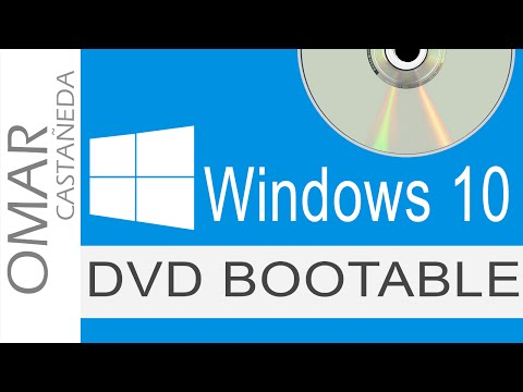 COMO CREAR UN DVD BOOTABLE O DISCO DE ARRANQUE WINDOWS 10