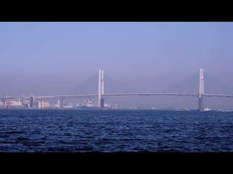 横浜港の景色 /BGM ・ピコピコディスコ【 甘茶の音楽工房】