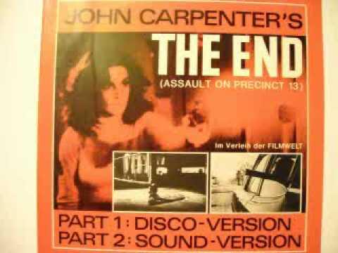 John Carpenter's – The End (Assault on precinct 13) Disco Version 1983