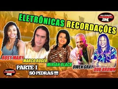 CD REGGAE RECORDAÇÕES ELETRÔNICAS PARTE I. SÓ PEDRAS PARA RECORDAR E VOLTAR NO TEMPO 😊🎧
