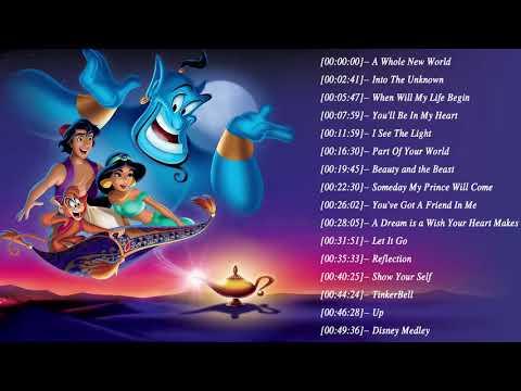 【全100曲】ディズニーソングメドレー – Disney Soundtracks Playlist 2020