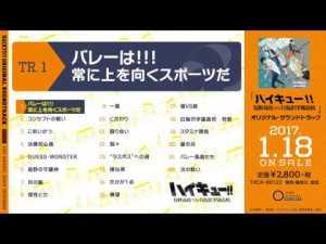 アニメ『ハイキュー!!烏野高校vs白鳥沢学園高校』オリジナル・サウンドトラック 試聴動画