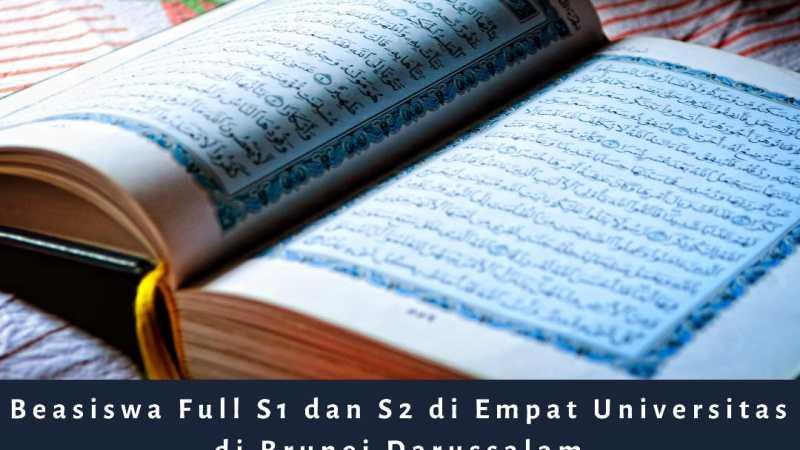 Beasiswa Full S1 dan S2 di Brunei Darussalam