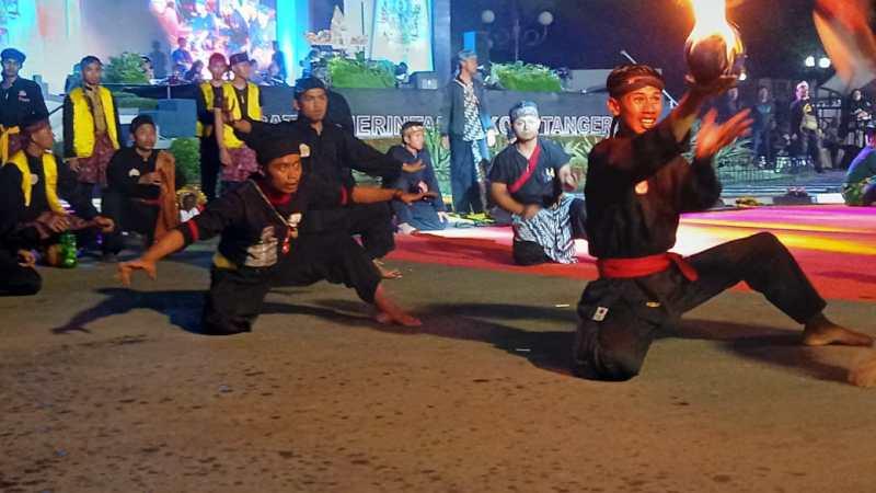 Boles dan Lisung Meriahkan Festival Budaya Nusantara III Di Tangerang
