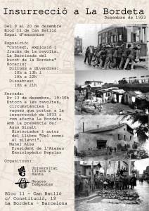 Insurrecció a La Bordeta, desembre de 1933