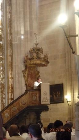 lectura desde el púlpito