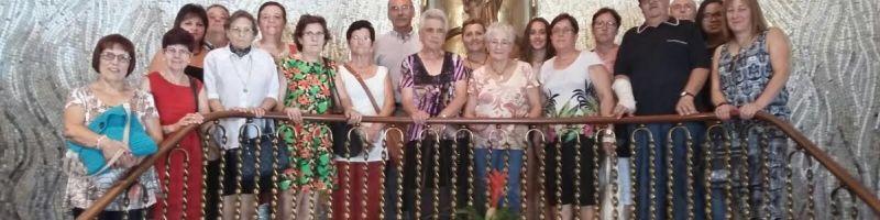 Un Grupo de Peregrinos de Betxí en Castellón.