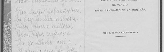 Novena a San José de 1904