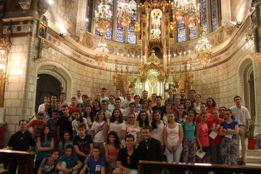 Altar obra de Francesc Berenguer y construido por familia Barba.