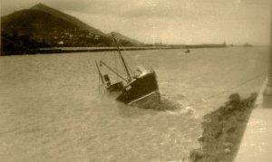 1934 Foto naufragio Toñín 2