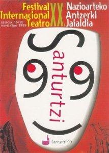 Cartel festival teatro 1999