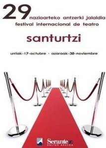 Cartel festival teatro 2008