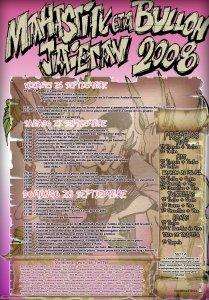 cartel fiestas 2008