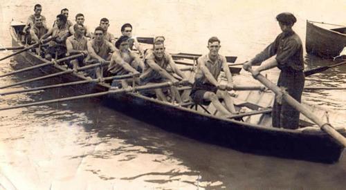 Trainera de Santurtzi en 1933