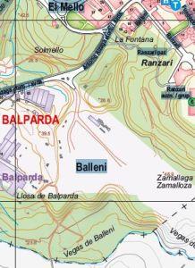 Plano Situación Balleni