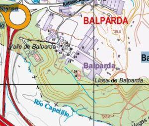 Plano Situación Balparda