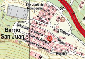 Plano Situación Barrio San Juan (Rompeolas)
