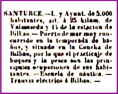 Santurce lugar de veraneo en 1900-1