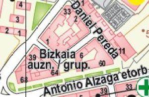 Plano Situación Bizkaia