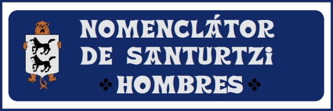 0 Nomenclátor de Santurtzi-Hombres