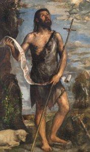 Retrato de San Juan Bautista