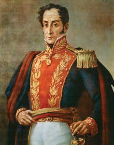 Retrato de Simon Bolivar