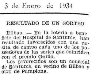 Rifa 1934 (Las Provincias)