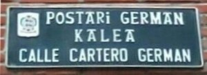 Calle Cartero Germán