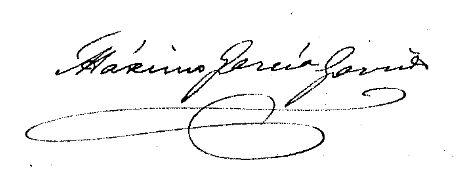 Firma Máximo García Garrido