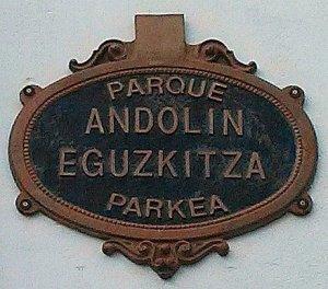 Parque Andolin Eguzkitza