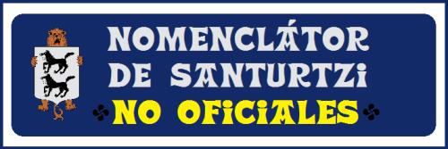 0 Nomenclátor de Santurtzi-No oficiales