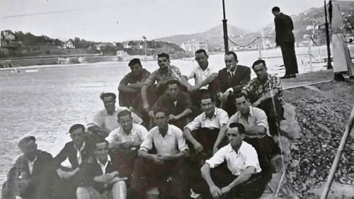 Trainera de Santurtzi (Virgen del Mar) 1940