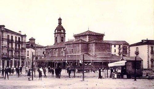 Kiosko Iglesia San Jorge en 1910 (probable)-2