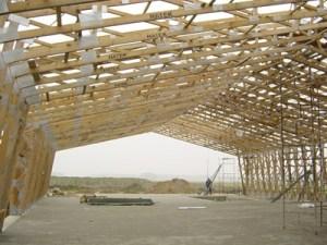 Mediniu konstrukciju angarai sandeliai Inovatyvi statyba www.santvaros.lt