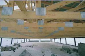 kiaulių fermos latvijoje su medinėmis stogo santvaromis-projektai-santvaros.lt