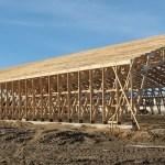 Medines santvarines konstrukcijos dideliu tarpatramiu statiniams Inovatyvi statyba www.santvaros.lt