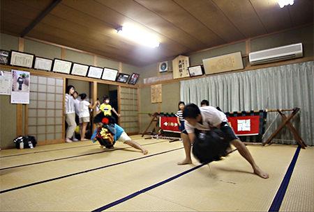2016年葛原正八幡神社秋季大祭へ向けて練習が始まりました。