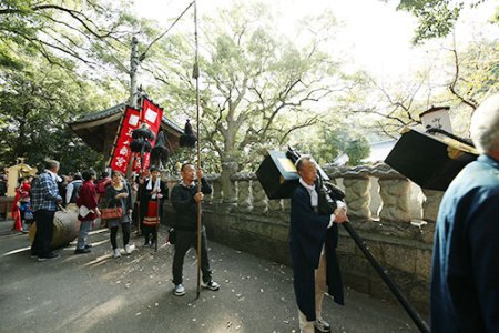 御神事行列(葛原正八幡宮 2018)