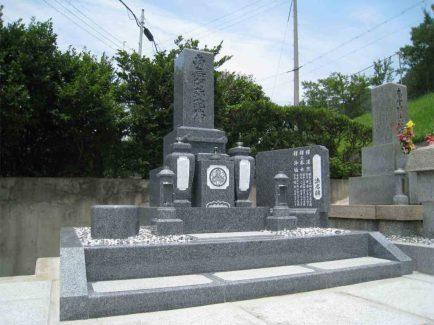 兵庫県 たつの市 御津町 岩見 伊津 片墓地 お墓 設計 施工 墓石 たつの市でお墓のことなら石の店山陽石材へ