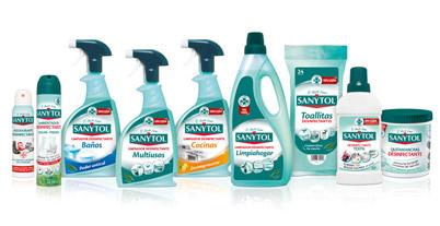 Resultado de imagen de foto de productos sanytol textil