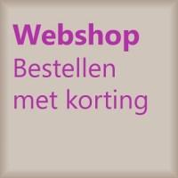 Webshop bestellen met korting