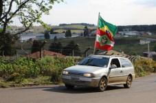 Carreata pro-bolsonaro São Joaquim(99)