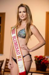 MISS BLUMENAU - EVELYN BLOCK 21 ANOS – 1.73 MT