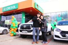 Tadeu Alves Mota ganhadores da Toyota Hilux 0km