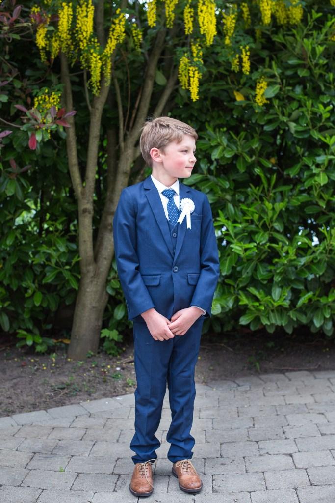 communion suit boy portrait first holy communion kildare photographer