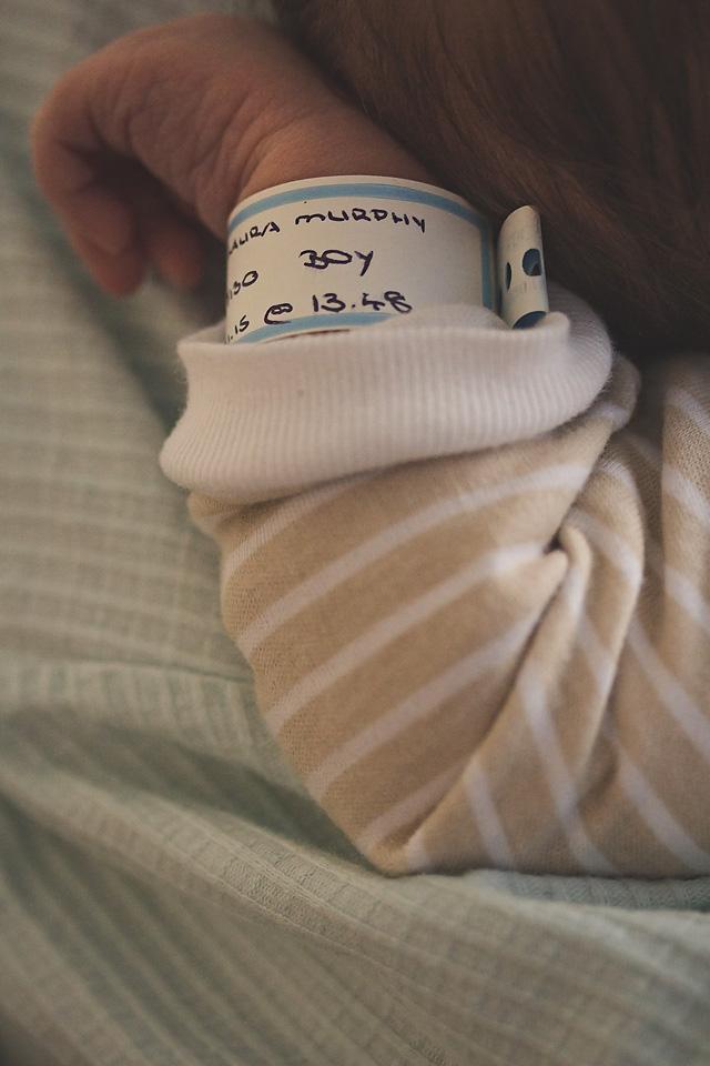 newborn baby hospital tag