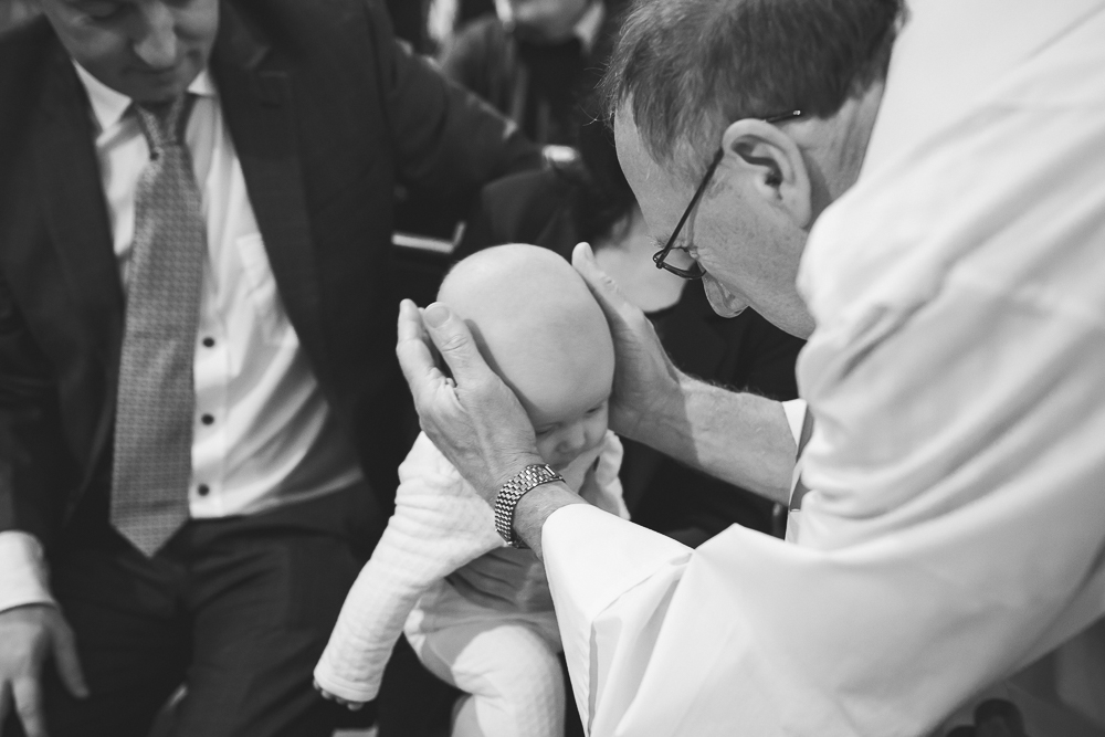 baby, priest, blessing, christening, baptism.