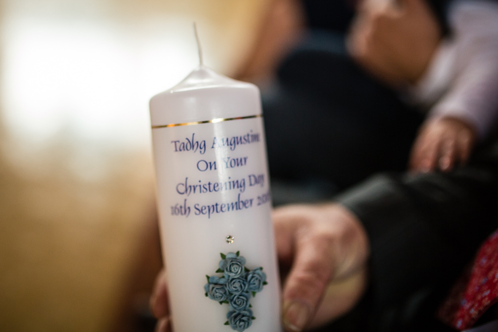 baptism candle, christening, naming ceremony, godfather