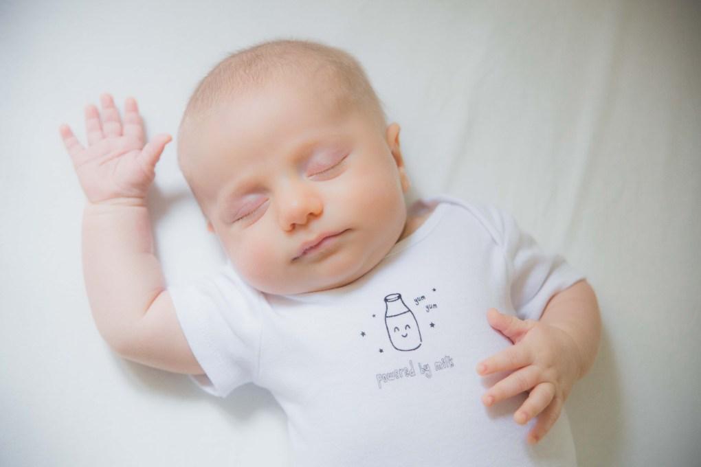 baby boy newborn portrait