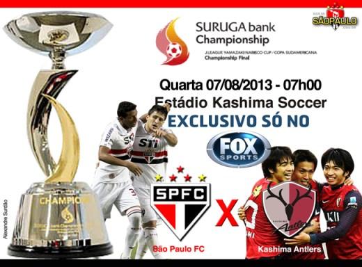 Kashima x São Paulo